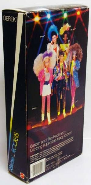 Barbie and the Rockers Derek - Mattel 1985 (ref.2428)