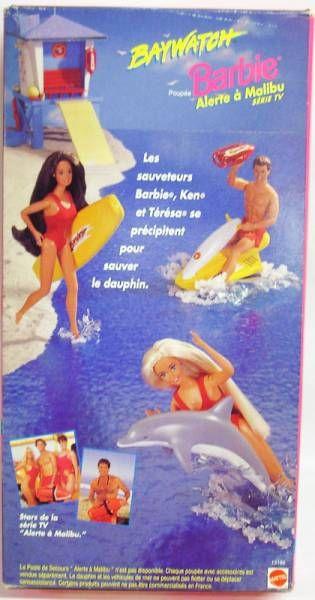 Barbie Baywatch Alerte à Malibu - Mattel 1994 (ref.13199)