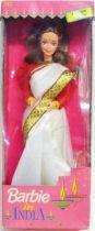 Barbie in India (White Sari) - LEO Mattel 1993 (no ref.)