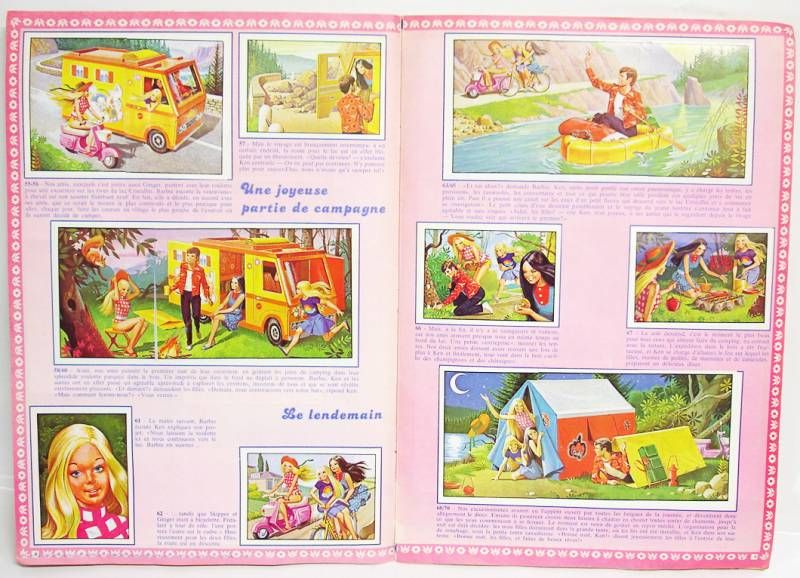 Barbie Parade - 1978 Panini Stickers collector book
