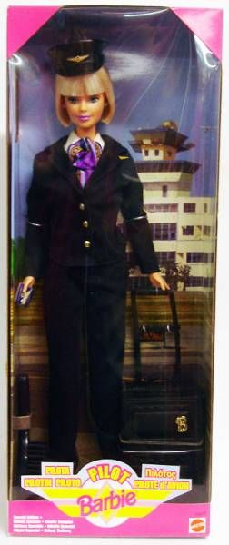 Barbie Pilote d\'avion - Mattel 1999 (ref.24017)