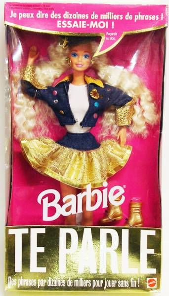 Barbie Te Parle - Mattel 1994 (ref.12372)