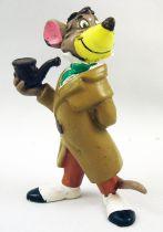 Basil Détective privé - figurine pvc Bully - Basil