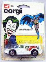 Batman - Corgi Junior Ref.99 - Jokermobile (mint on card)