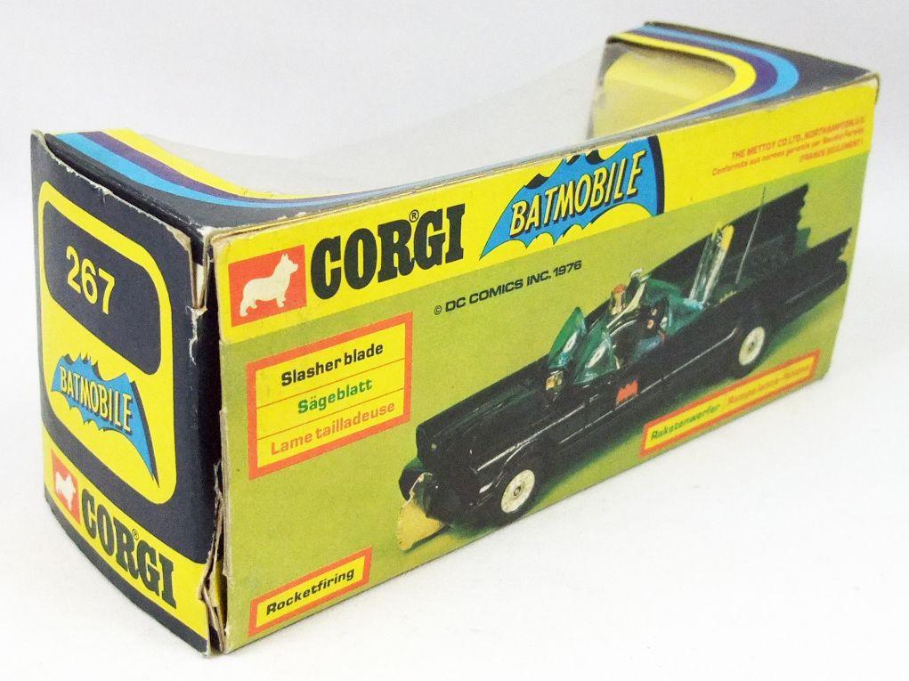 Batman - Corgi Ref.267 1976 - Batmobile 1/36ème (en boite)