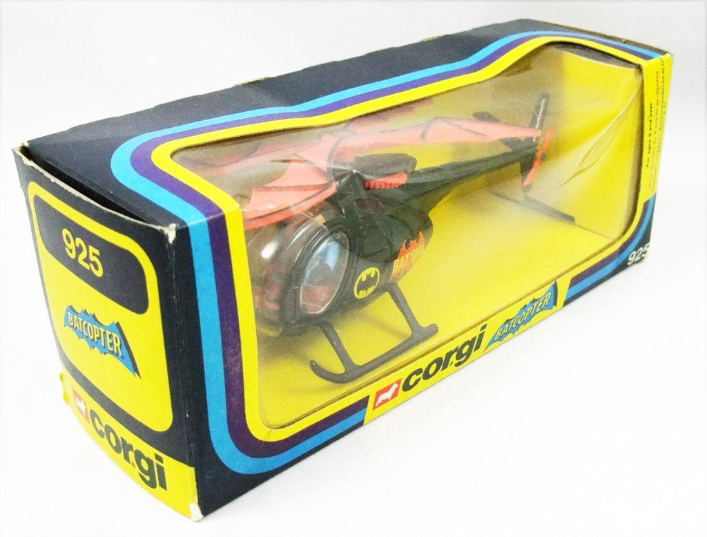 Batman - Corgi Ref.925 1976 - Batcopter 1/36ème (en boite)