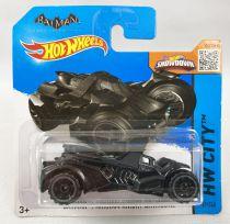 Batman - Mattel Hot Wheels Showdown - Batman Arkham Knight Batmobile (HW City)