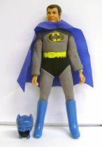 Batman - Mego World\'s Greatest Super-Heroes - Bruce Wayne Batman with removable mask (loose)