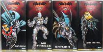 Batman & Robin (1997) - Set des 4 figurine Collector Series 30cm Kenner - Mr. Freeze, Batgirl, Batman, Robin