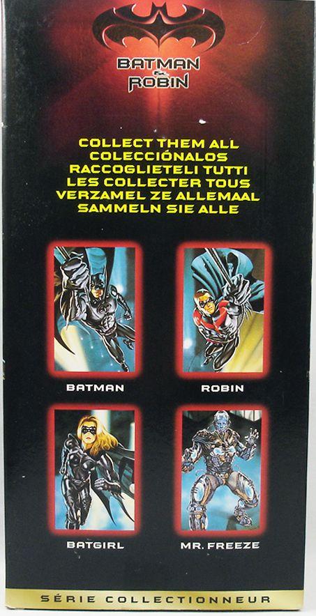 "Batman & Robin (1997) - Set of 4 12\"" Collector Series Figures Kenner - Mr.Freeze, Batgirl, Batman, Robin."
