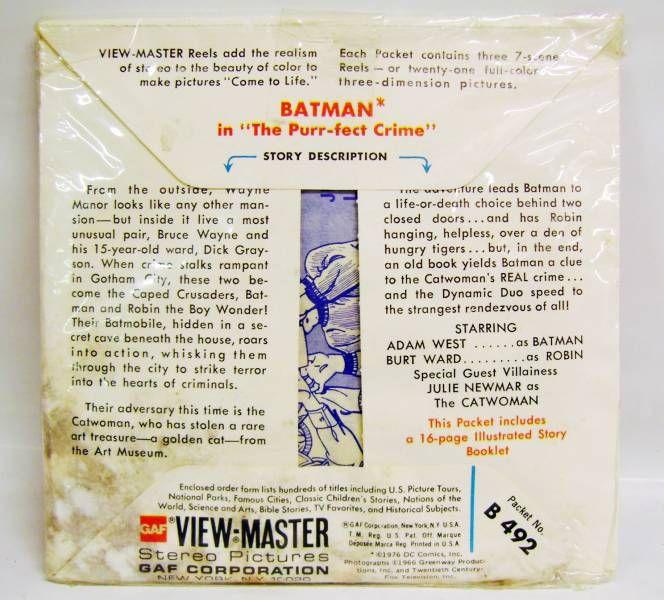 Batman - View-Master - Batman View-Master (21 Stereo Pictures set