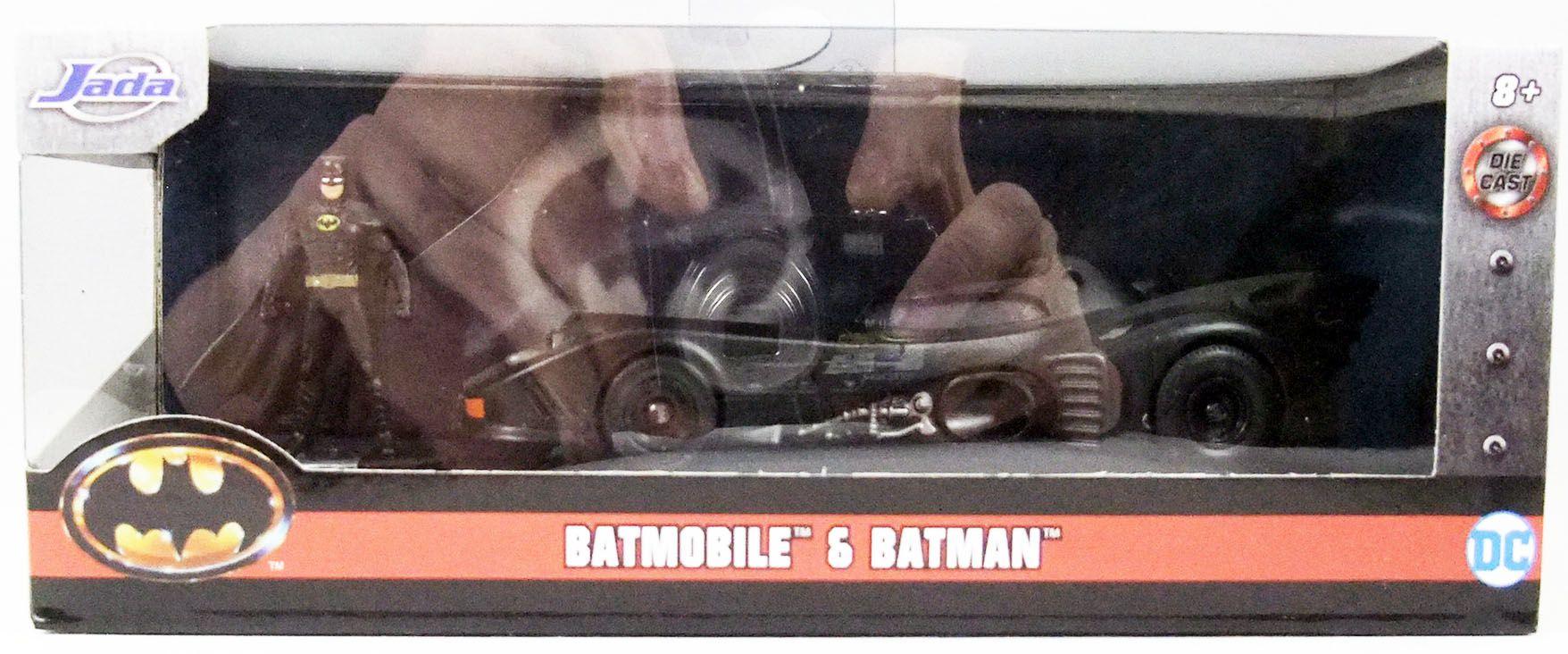 Batman (1989 Movie) - Jada - 1:32 scale die-cast Batmobile with Batman figure