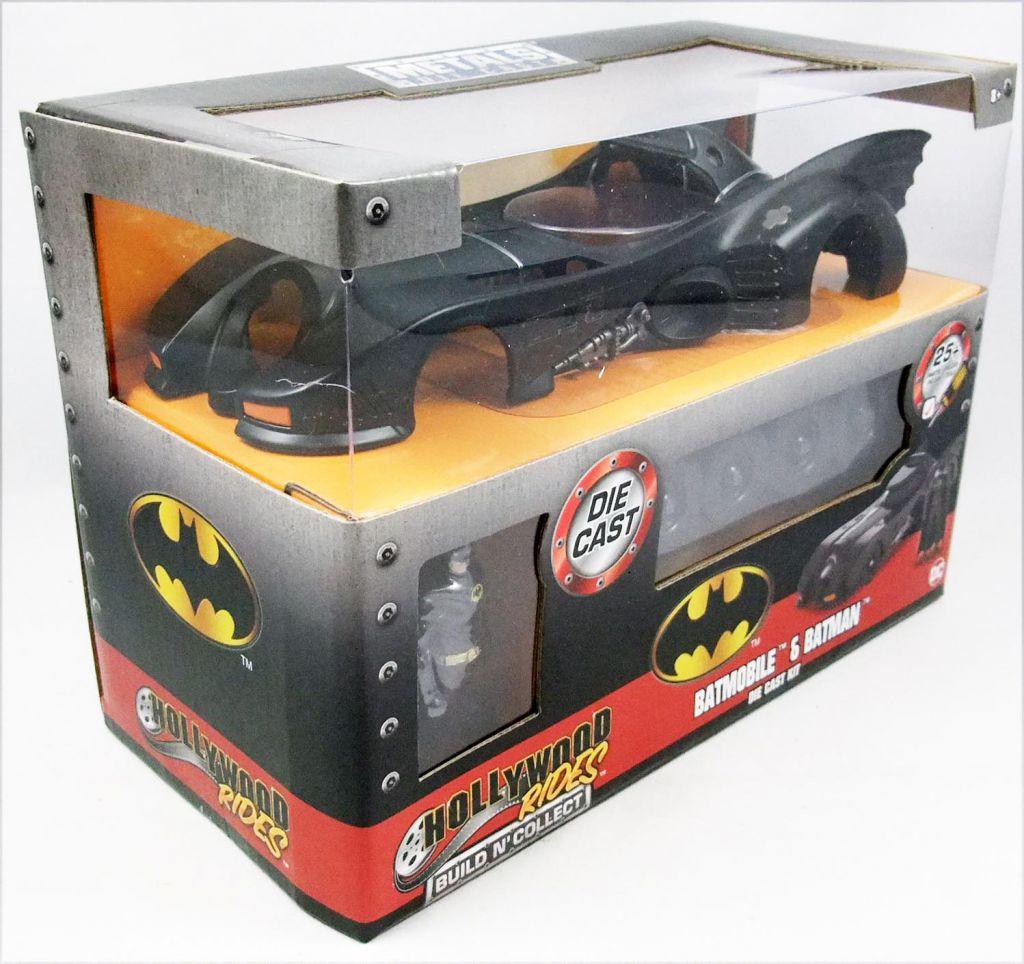 Batman (1989 movie) - Jada - Build N\' Collect 1:24 scale die-cast Batmobile with Batman figure