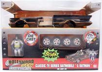 Batman (Classic TV Series) - Jada - Build N\' Collect 1:24 scale die-cast Batmobile with Batman figure