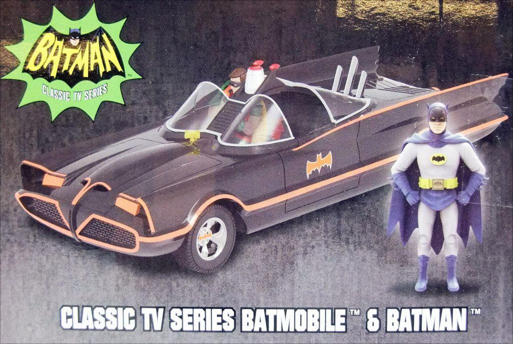 Batman (Classic TV Series) - Jada - Build N\' Collect Batmobile metal 1:24ème avec figurine Batman