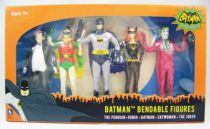 Batman (Classic TV Series) - NJCroce - Bendable Figures Set