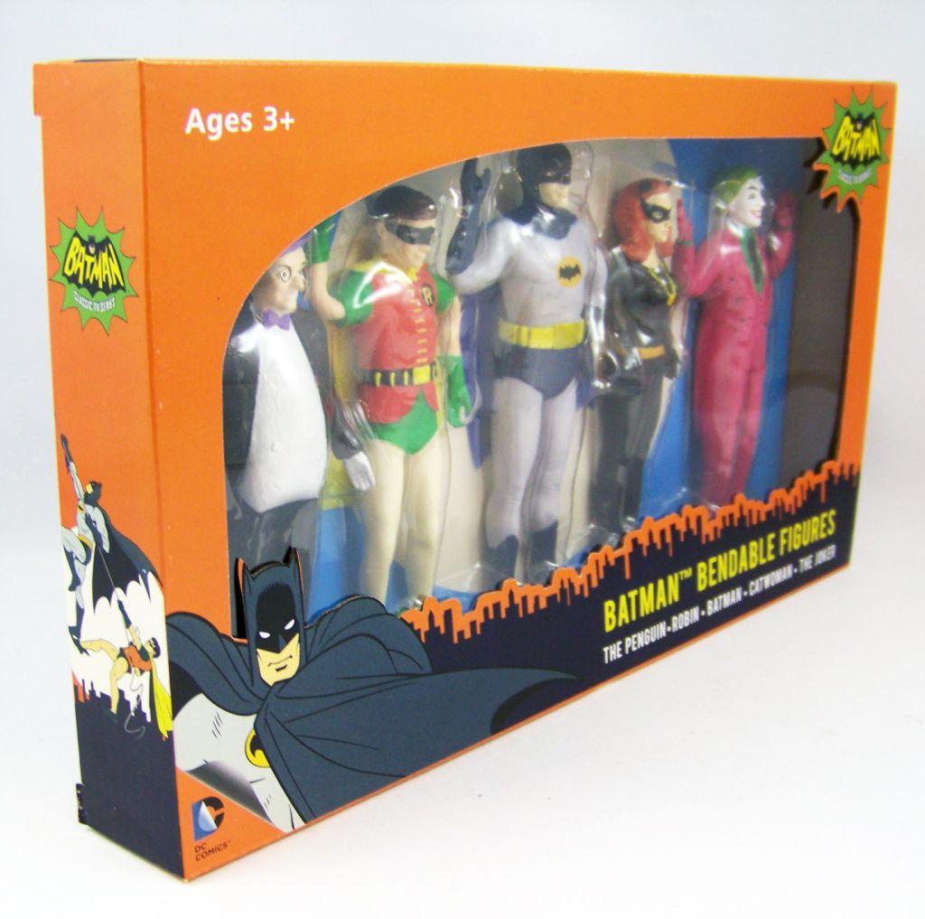 Batman (Classic TV Series) - NJCroce - Bendable Figures Set