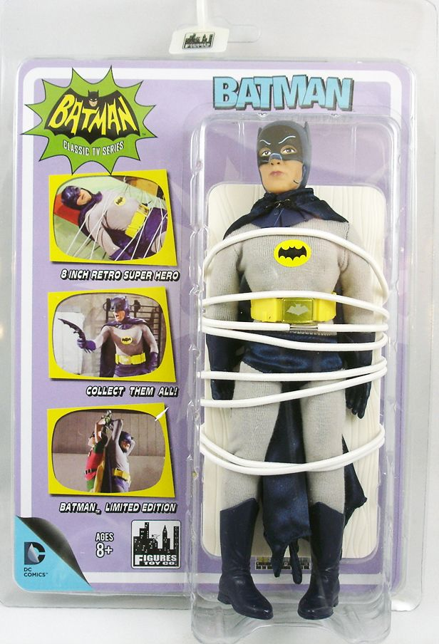 Batman 1966 TV series - Figures Toy Co. - Batman Heroes in Peril (Adam West)