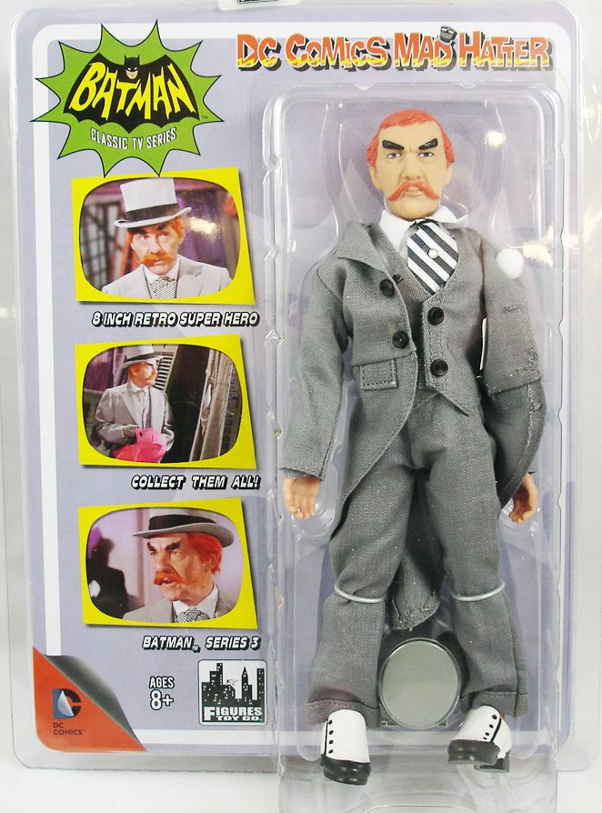Batman 1966 TV series - Figures Toy Co. - The Mad Hatter (David Wayne)