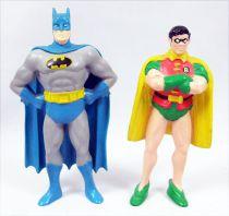 Batman Comics - Batman & Robin - Figurines pvc Applause 1989