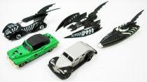 Batman Forever - Set of 5 die-cast vehicles : Batmobile, Batboat, Batwing, Riddler Car, Two-Face Armored Car