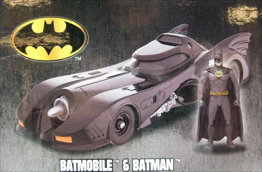 Batman le film (1989) - Jada - Build N\' Collect Batmobile metal 1:24ème avec figurine Batman