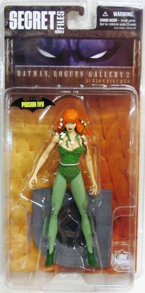 Batman ROGUES GALLERY 2 Poison Ivy DC Direct Secret Files Series 3
