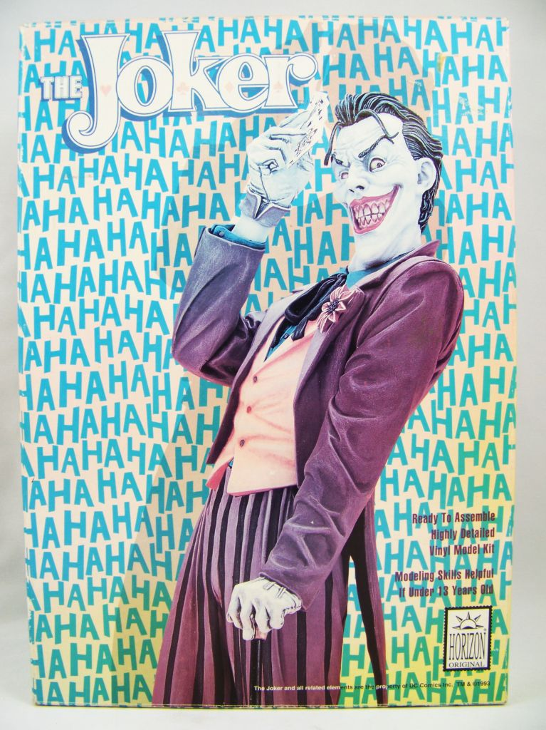 Batman\'s Vilains - Horizon Model Kit - The Joker 01