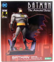 "Batman The Animated Series - Batman ""Opening Sequence ver.\"" ArtFX Statue - Kotobukiya"