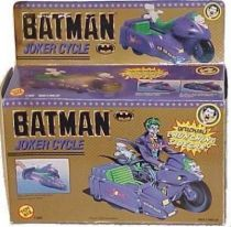 Batman The Movie - Joker Cycle -ToyBiz