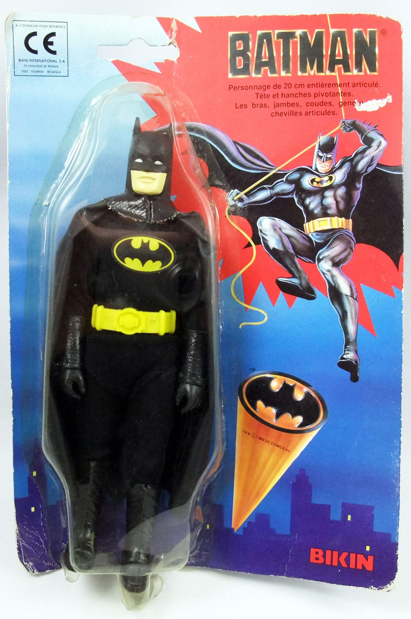 """Batman The Movie (1989) - Bikin -Batman 8\"""" action figure"""