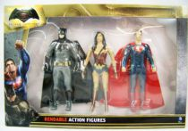 Batman vs Superman - NJCroce - Bendable Figures Set