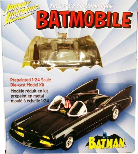 Batmobile 1960\'s - 1:24 die-cast Model Kit - Johnny Lightning