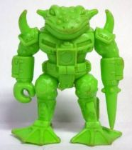 Battle Beasts - #07 Horny Toad \'\'green monochrome\'\' (loose without weapon)