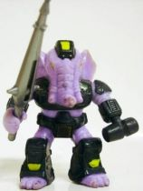 Battle Beasts - #08 Sledgehammer Elephant (loose with weapon)