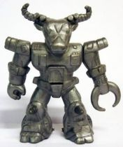 Battle Beasts - #10 Roamin\\\' Buffalo \\\'\\\'silver monochrome\\\'\\\' (loose without weapon)