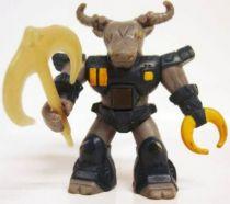 Battle Beasts - #10 Roamin\' Buffalo (loose with weapon)