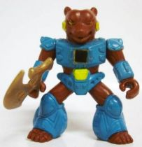 Battle Beasts - #11 Grizzly Bear (loose with weapon)
