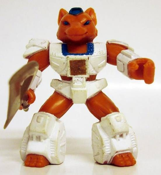 Battle Beasts - #16 Sly Fox (loose with weapon)