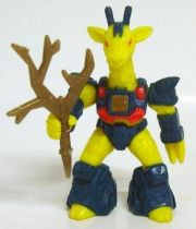 Battle Beasts - #18 Rubberneck Giraffe (loose with weapon)