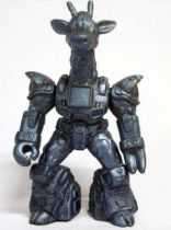 Battle Beasts - #18 Ruberneck Giraffe \'\'metallic blue monochrome\'\' (loose without weapon)