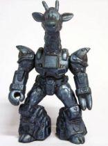 Battle Beasts - #18 Ruberneck Giraffe \\\'\\\'metallic blue monochrome\\\'\\\' (loose without weapon)