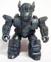 Battle Beasts - #25 Bloodthirsty Bison \\\'\\\'metallic blue monochrome\\\'\\\' (loose without weapon)