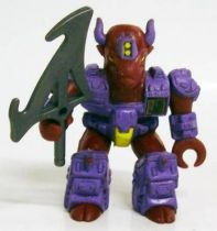 Battle Beasts - #25 Bloodthirsty Bison (loose with weapon)
