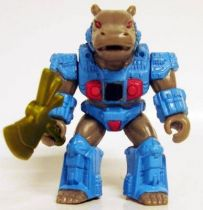 Battle Beasts - #32 Hummungus Hippo (loose with weapon)