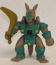 Battle Beasts - #35 Kickback Kangaroo (loose with weapon)