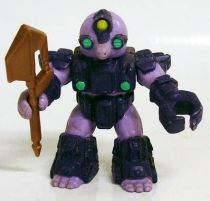 Battle Beasts - #42 Miner Mole (loose with weapon)