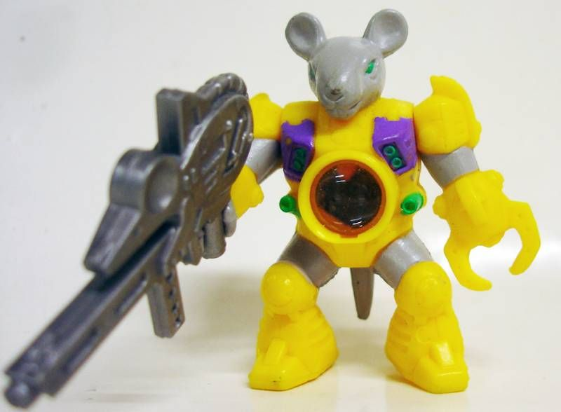 Battle Beasts - #88 Brain Mouse (loose with weapon)