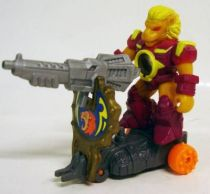 Battle Beasts - #89 Brown Lion \'\'Shield Battler\'\' (loose with weapon)