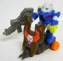 Battle Beasts - #90 Grencats \'\'Shield Battler\'\' (loose with weapon)